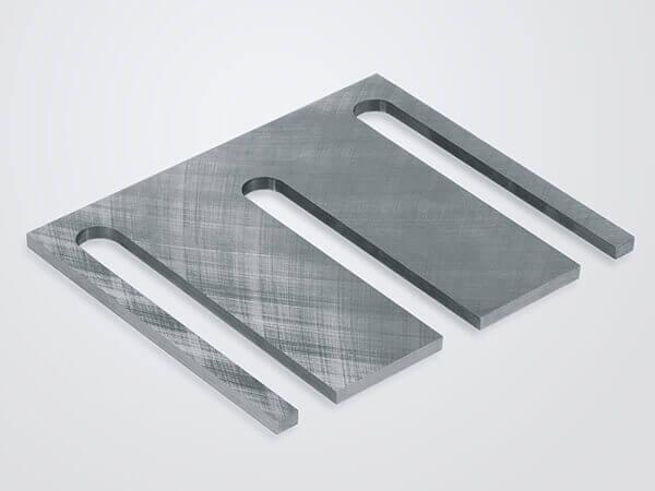 Doppelplanschleifen Zwischenplatte