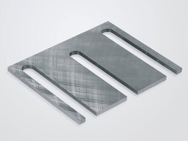 Double-sided surface grinding Baffle plate